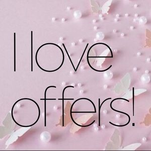 I accept any reasonable offer!!!
